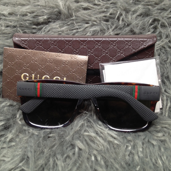 2f7984440c3 Gucci Other - Gucci Men s Havana Black Sunglasses GG1124 F S NEW